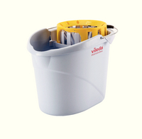 Vileda Supermop Bucket / Wringer Yellow