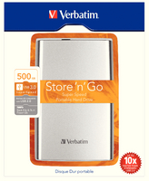 Verbatim 500GB USB 3 Port HDD 53021