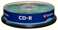 Verbatim CD-R DataLife 52X Spind10 43437