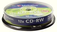 Verbatim CD-RW DatLf Plus 12X Sp10 43480