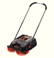 Vax Floor Sweeper Black/Orange Vcs-01