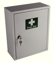 WAC FirstAid Cab 1-50 Persons Metal