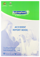 WAC Accident Report Book A4 5401016