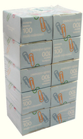 Paperclip Large Plain Box100 Astd