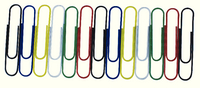 Paperclip Giant 3In Wavy Asst P100