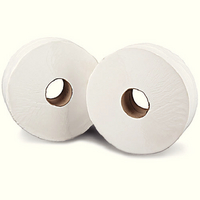 Mini Jumbo Toilet Roll 2Ply 150M Wht P12