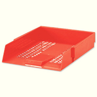 Contract LetterTray Red