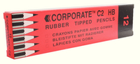 Contract Pencil Rubber Tipped