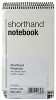 Shorthand Notebook 150 Leaf