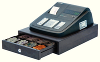 YCR Electronic Cash Register Blk ER-180