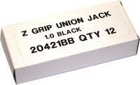 Zebra Z-Grip Union Jack Bp Black 20421BB